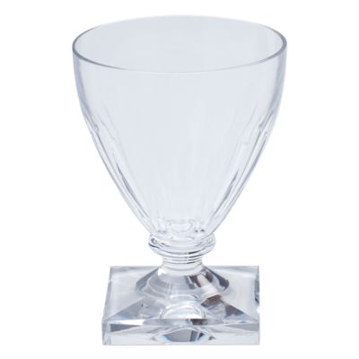 Caspari Caspari Acrylic Wine Goblet Crystal