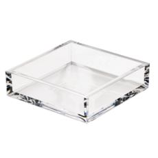 Caspari Caspari Cocktail Crystal Acrylic Luncheon Holder