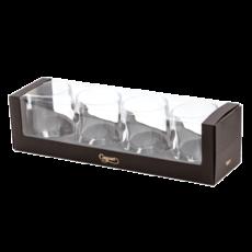 Caspari Caspari Crystal Acrylic Tumbler Gift Set of 4