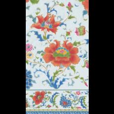 Caspari Chinese Ceramic White Guest Towel