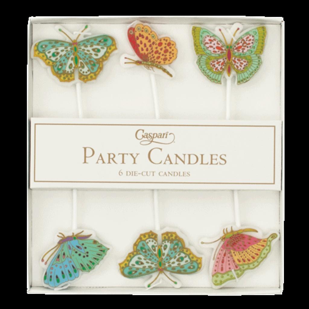 Caspari Die-Cut Party Candles-Butterlifes