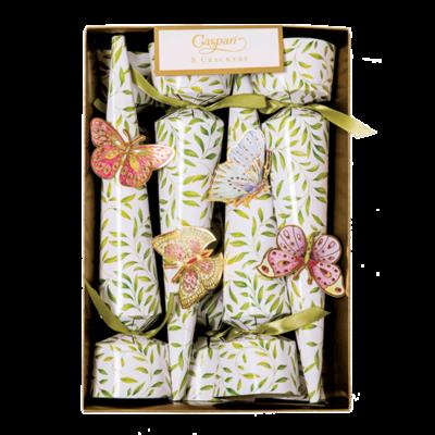 Caspari Jeweled Butterflies- Cone Crackers