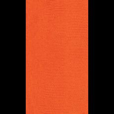 Caspari Lizard Orange Paper Guest Towel