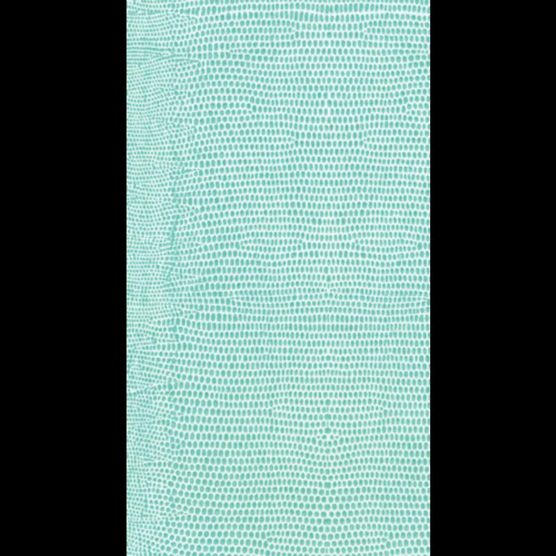 Caspari Lizard Turquoise Paper Guest Towel