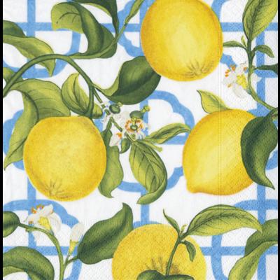 Caspari Seville Ivory (lemon) Cocktail