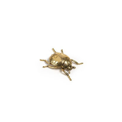Zodax DECORATIVE GOLD LADYBUG