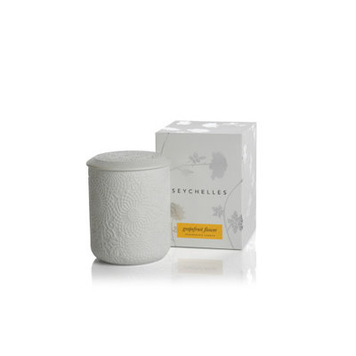 Zodax Seychelles Fragranced Candle- Grapefruit