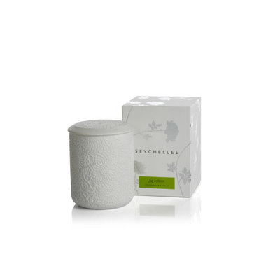 Zodax SEYCHELLES FRAGRANCED CANDLE-FIG VETIVER