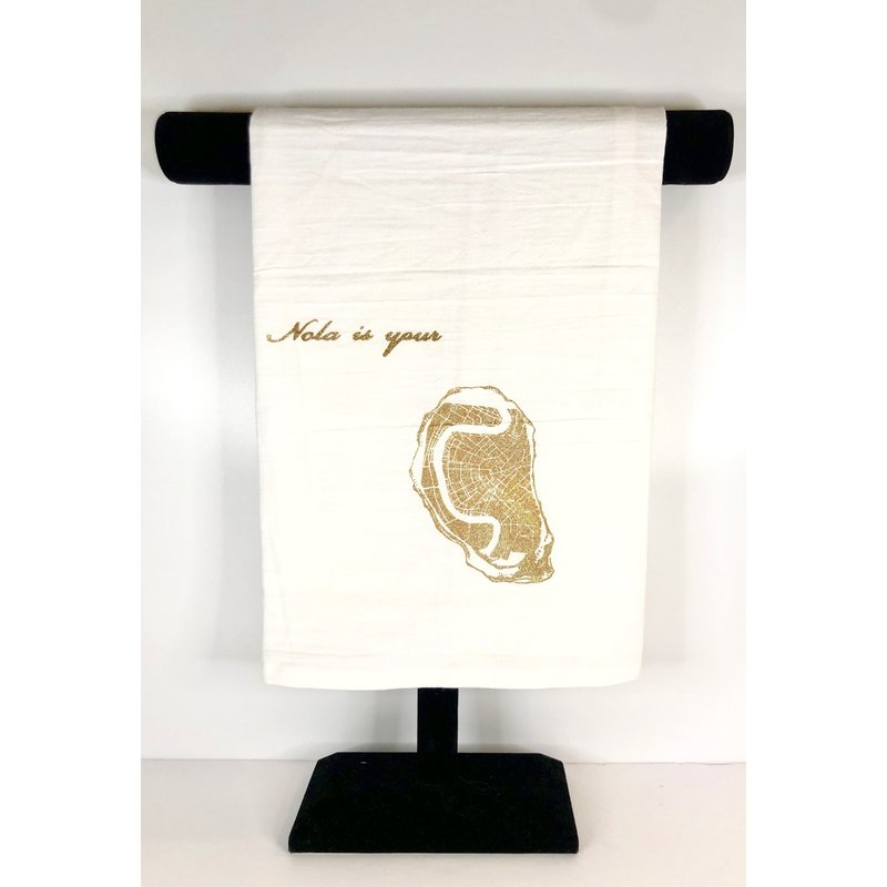 Masue New Orleans Oyster Tea Towels