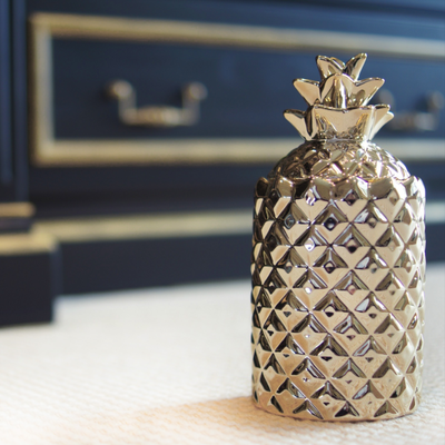 Thompson Ferrier Thompson Ferrier Pineapple Candle Silver
