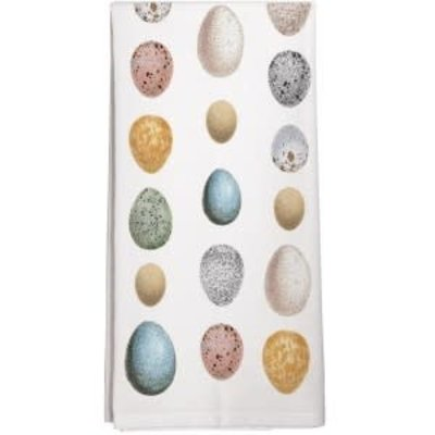 Mary Lake Thompson Eggs Towel