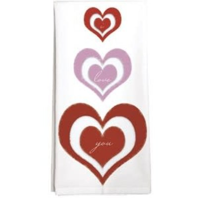 Mary Lake Thompson Heart Trio Towel
