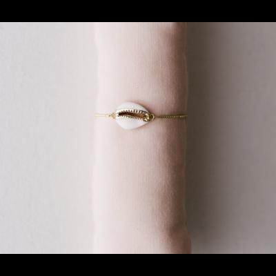 Grit & Grace Grit & Grace Adjustable Bracelet Shell
