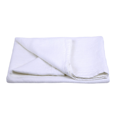 LinenCasa Linen Bath Towel with Monogram +$12