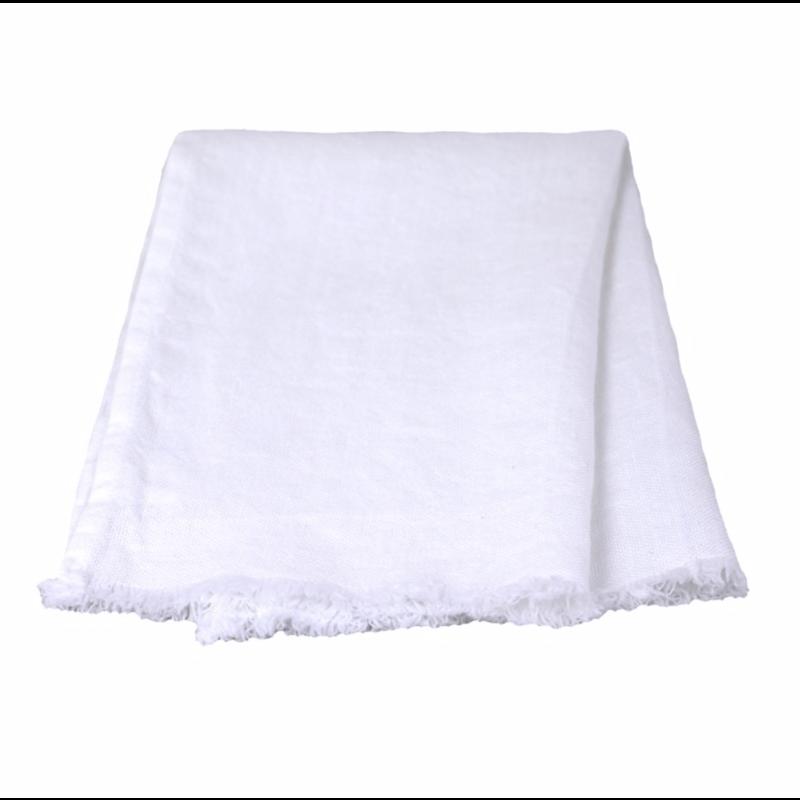 LinenCasa Monogram Linen Guest Towel