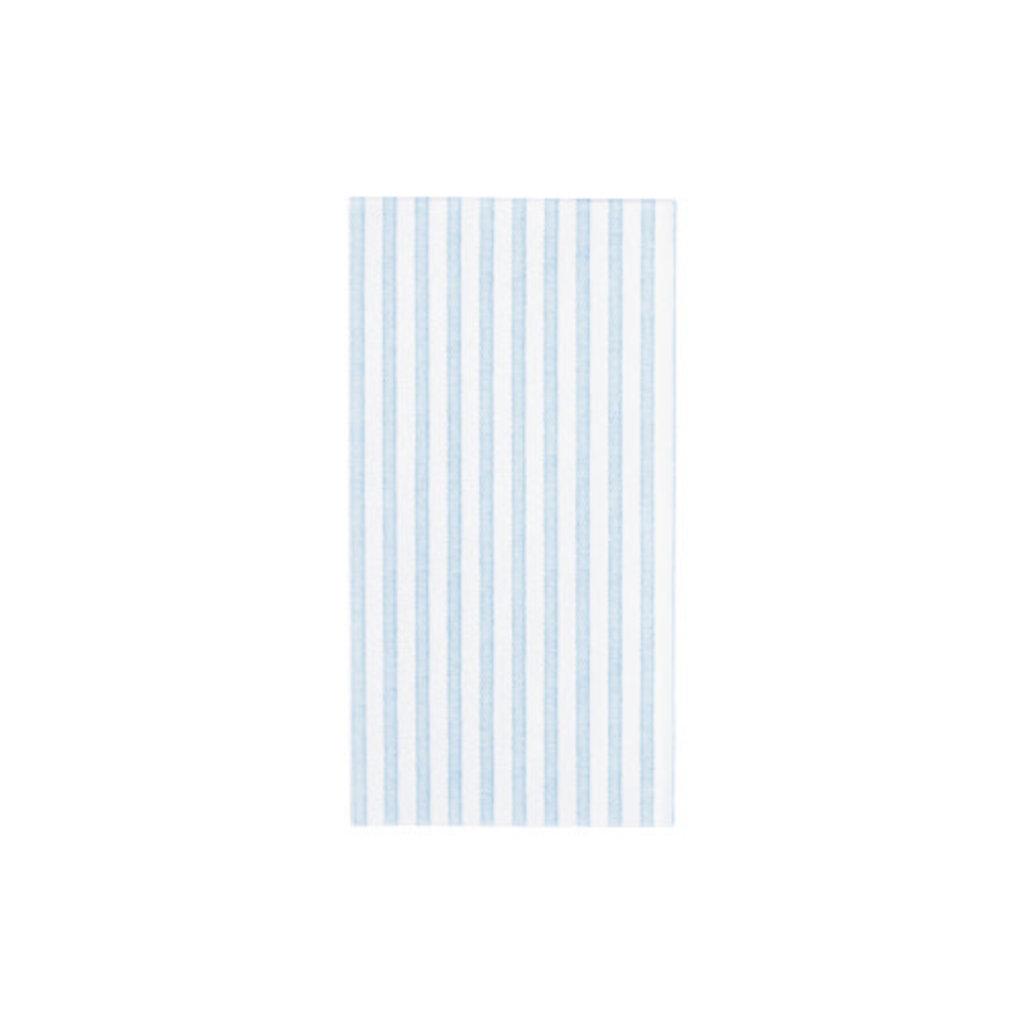 Vietri PAPERSOFT NAPKINS CAPRI LIGHT BLUE GUEST TOWELS (PACK OF 50)