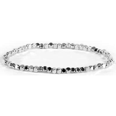 My Fun Colors Silver Bead Bracelet