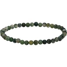 My Fun Colors Mini Gemstone Bracelet - Moss Agate