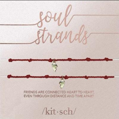 Kitsch Kitsch Soul Strands Heart Charm
