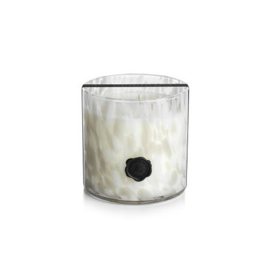 Zodax AG Opal Glass Three Wick Candle Gardenia