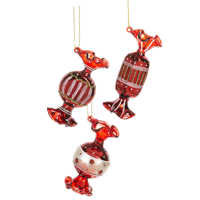 Ganz Candy Twist Ornament
