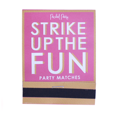 Packed Party Strike up the Fun Matches