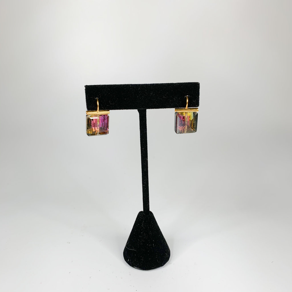 Catherine Canino Catherine Canino Polished 14 karat gold over brass Wine