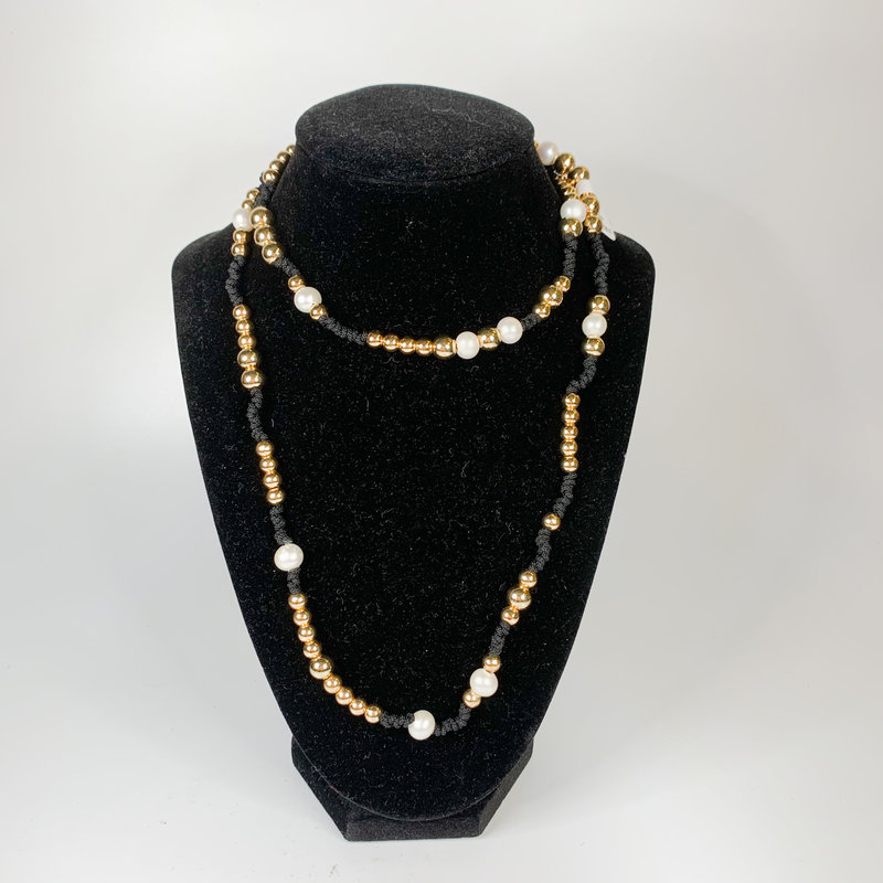 Catherine Canino Cording with Pearl
