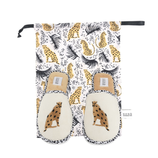 Hang Accessories Cheetah Travel Slippers Large