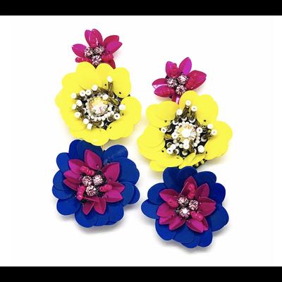 Allie Beads Bloom Earrings