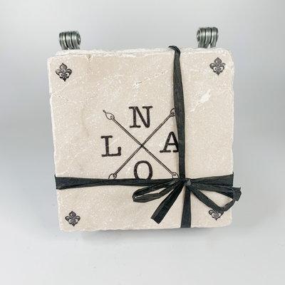 Gary Schiro NOLA X Coaster