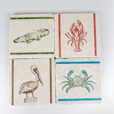 Gary Schiro Louisiana Life Coasters