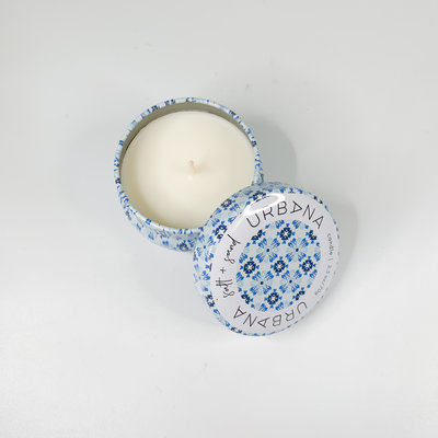 European Soaps SALT AND SAND MINI CANDLE