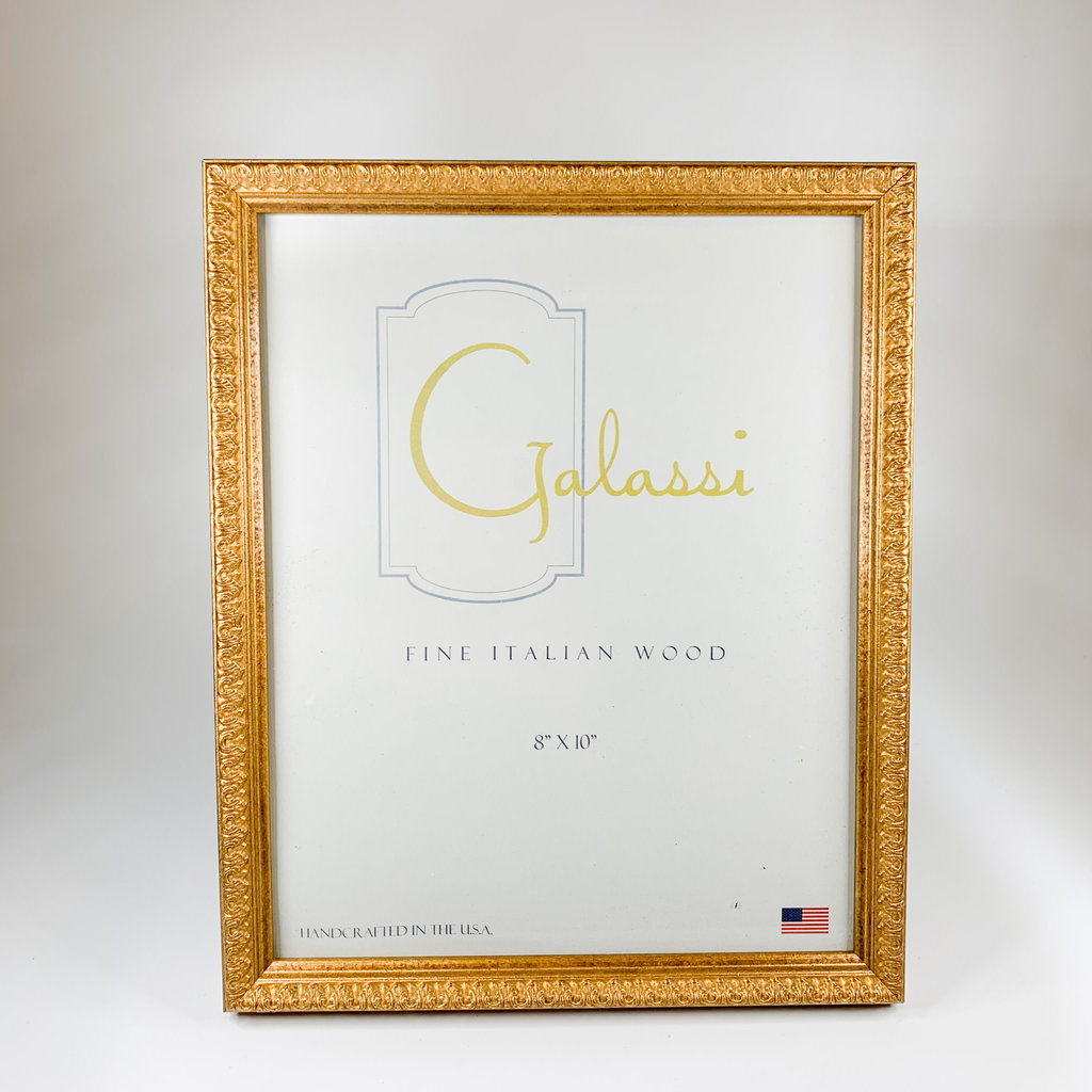 Galassi Elizabeth Gold 8x10 Frame