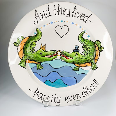 Jan Salzer Jan Salzer Alligator Wedding Platter