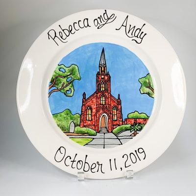 Jan Salzer Jan Salzer Custom Wedding Platter