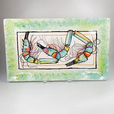 Jan Salzer Jan Salzer Rectangle Shrimp Plate