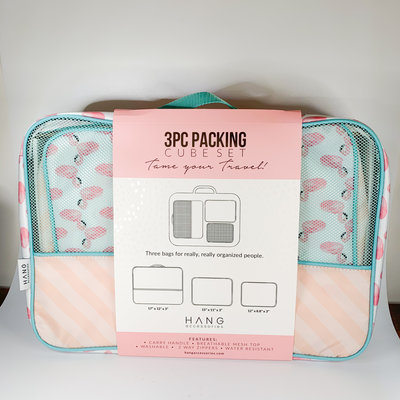 Hang Accessories Flamingo & Dot Piece Packing Cubes