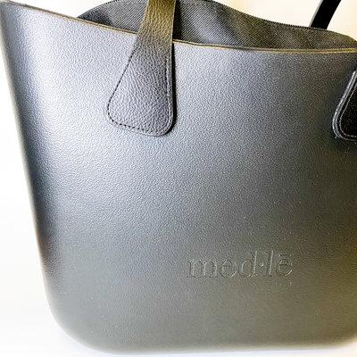 Medle Medle Black Bag with Black Handle