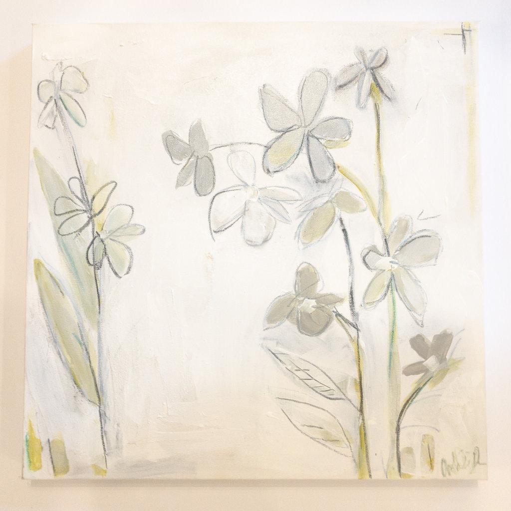 Ashley Addison Ashley Addison Abstract Flowers 20x20