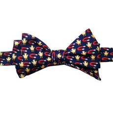 Lazy Jack Press Chick Magnet Bow Tie