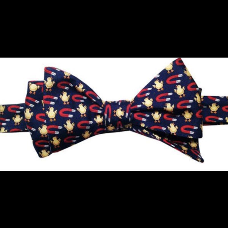 Lazy Jack Press Chick Magnet Bow Tie