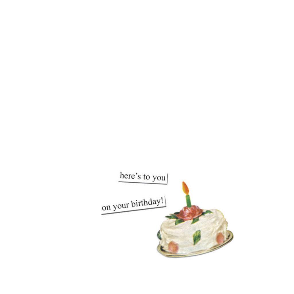 Anne Taintor birthday card - kitchen