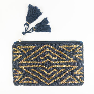 Ashiana New York Art Deco Bag Navy