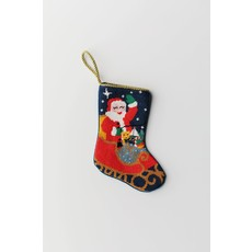 Bauble Stocking Bauble Stocking Santa