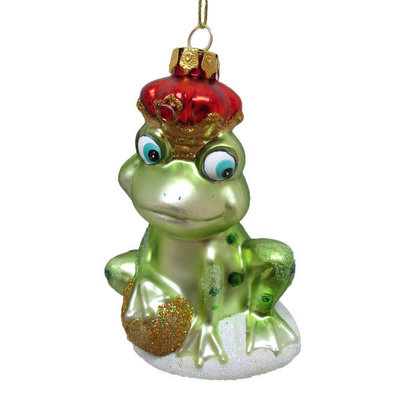 December Diamonds December Diamonds Frog Prince Ornament