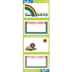 Tish McCarthy Tish McCarthy Vintage Gift Card Stickers