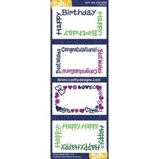 Tish McCarthy Tish McCarthy Mixed Navy Gift Card Stickers
