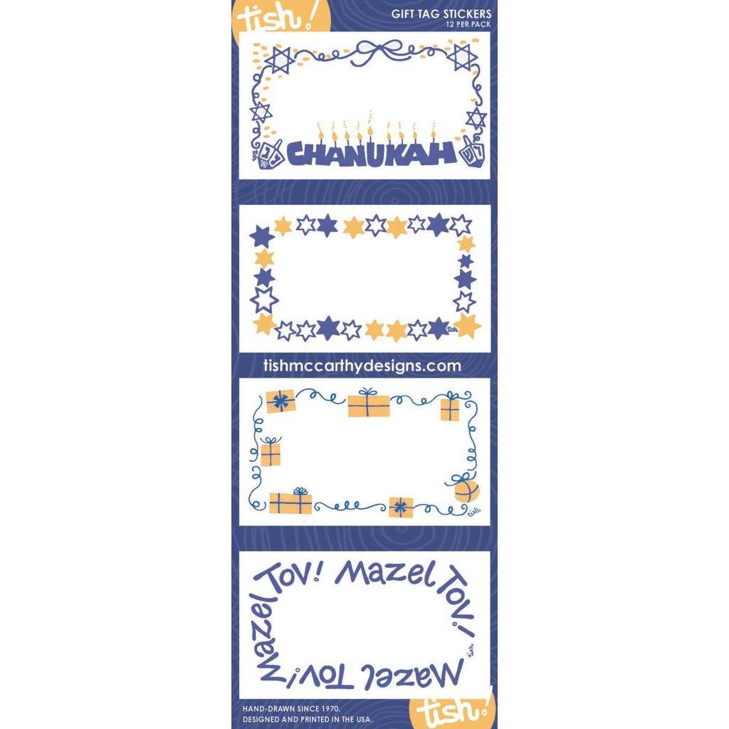 Tish McCarthy Tish McCarthy Chanukah Gift Card Stickers