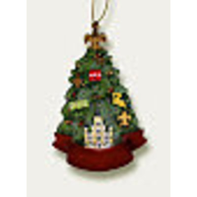 Piazza Louisiana Christmas Tree Ornament